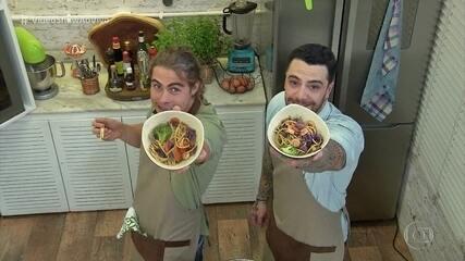 Felipe Titto cozinha com Rafael Vitti