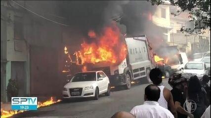 Avião explodiu e pegou fogo porque estava com o tanque cheio