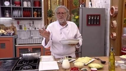 Chef Ravioli ensina a fazer receitas com berinjelas