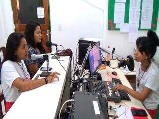 Rádio de São Gabriel da Cachoeira informa os moradores sobre o vestibular da Unicamp