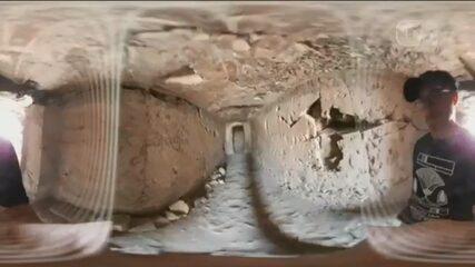 Primeira missão arqueológica brasileira em tumba egípcia revela estátuas e múmias