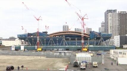 Inspeção do COI aponta que cronograma de obras para as Olimpíadas de Tóquio estão em dia
