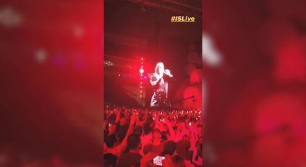 Ivete Sangalo faz show em São Paulo (Crédito: Reprodução/Instagram/Iessi Music Entertainment)