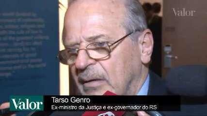 Ex-ministro Tarso Genro defende eleições gerais em 2016