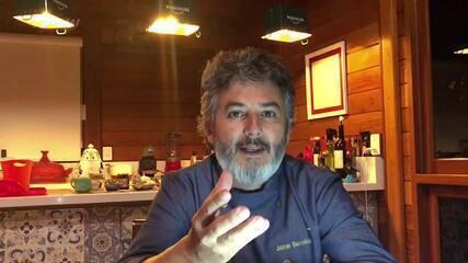 Chef Jaime Barcelos da dicas para o jantar de Marcio