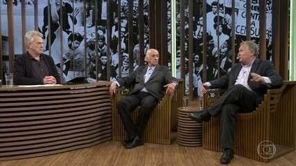 César Benjamin e Zuenir Ventura explicam qual foi a sensação após o anúncio do AI-5