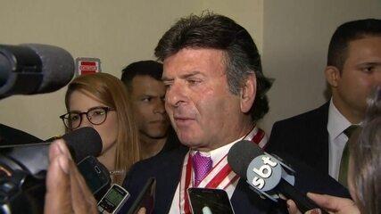 Ministro Luiz Fux fala sobre a autorização para extradição do italiano Cesare Battisti