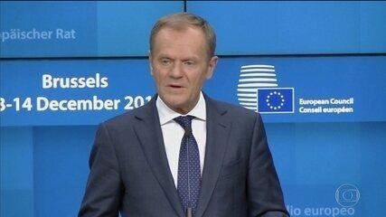 União Europeia não vai renegociar termos do divórcio com a Grã-Bretanha