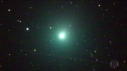 Nasa divulga imagens inéditas do cometa que passou bem perto da Terra