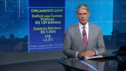Congresso Nacional aprova orçamento do ano que vem