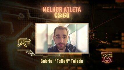 Fallen é eleito o melhor atleta de CS:GO no Prêmio eSports Brasil 2018
