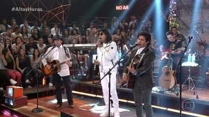 Marciano canta 'Fio de Cabelo' com convidados