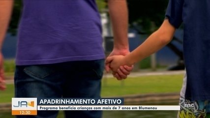 Apadrinhamento afetivo beneficia crianças e adolescentes em abrigos de Blumenau