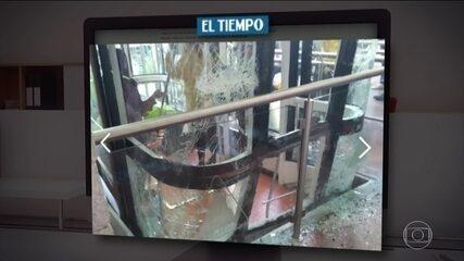 Três brasileiros ficam feridos em acidente com teleférico, em Bogotá
