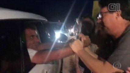 Homem volta para casa depois de 3 dias desaparecido após ser atingido por tromba d'água