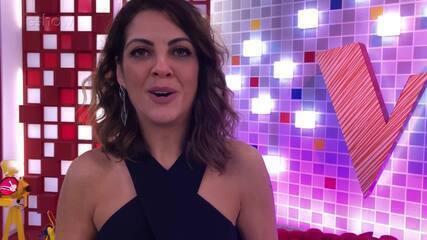 Thalita Rebouças volta das gravações de 'The Voice Kids'