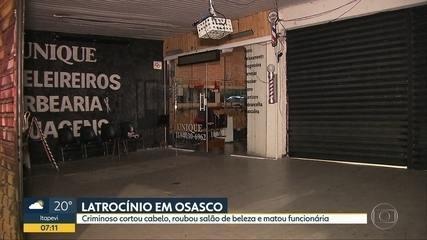 Funcionária de salão de beleza é morta em Osasco