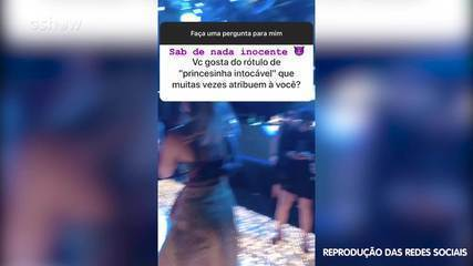 Marina Ruy Barbosa brinca ao descartar rótulos