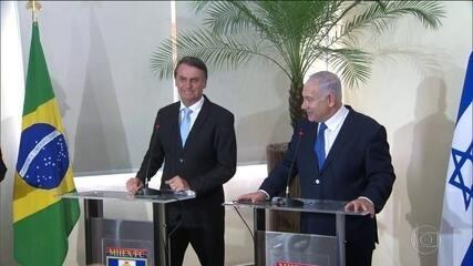 Primeiro-ministro de Israel chega ao Rio sob forte esquema de segurança