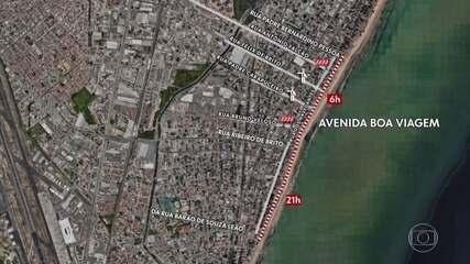 Trânsito na Zona Sul do Recife recebe mudanças por conta do réveillon