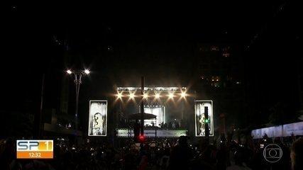 Festa na Avenida Paulista agradou a quem ficou em São Paulo