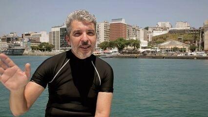 Instrutor de mergulho Genser Freire conta curiosidades do fundo do mar