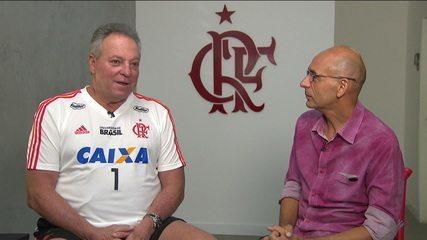 À frente do Flamengo, Abel Braga comenta elenco atual e pressão da torcida Rubro Negra
