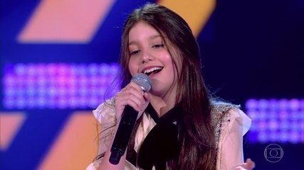 Luisa Ferrari canta 'Fica Tudo Bem'