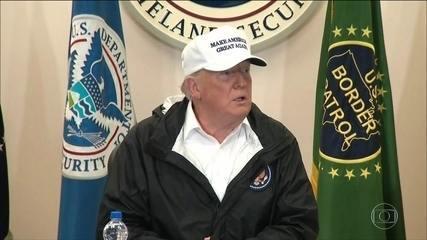 Trump visita fronteira em nova tentativa de ganhar apoio para muro