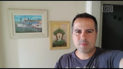 Jornalista Fabiano Vilela envia mensagem para aniversário de Belém