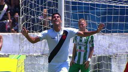 Os gols de Vasco 4 x 0 Juventude pela segunda fase da Copa São Paulo de Futebol Júnior