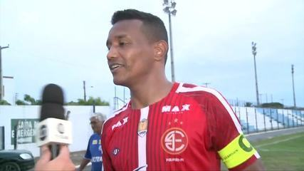 Gilmar agradece reconhecimento da torcida do Parnahyba, seu ex-clube