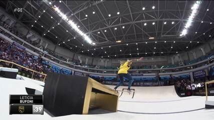 Em 2019, Letícia Bufoni ficou com vice-campeonato mundial de skate street