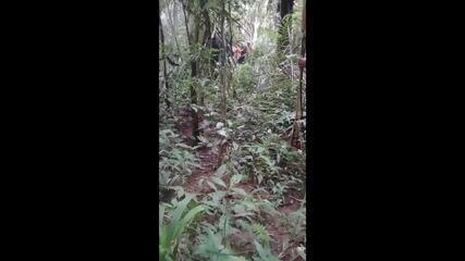 Vídeo gravado por indígenas mostra invasores em terras demarcadas de RO