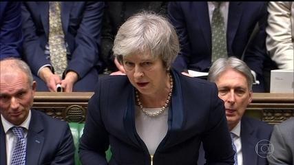 Parlamento britânico rejeita acordo para saída da União Europeia
