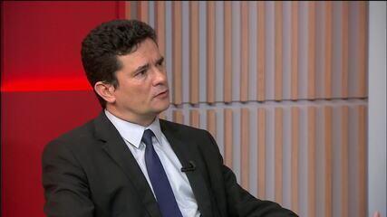 """""""Tem que ter política consistente às vítimas de violência doméstica"""", diz Moro"""