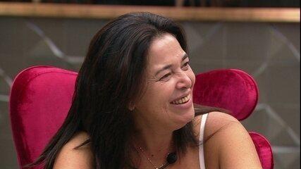 Tereza comenta com Rodrigo e Danrley: 'Isso aqui é uma das coisas que eu queria viver'