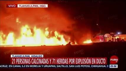 Explosão de oleoduto no México pode ter ocorrido após roubo de combustível no duto