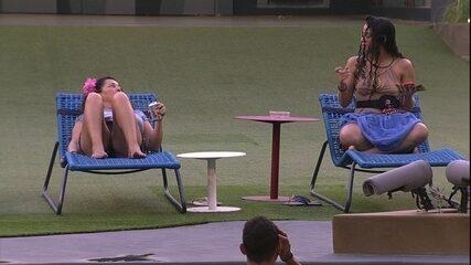 Elana afirma para Tereza: 'Nós duas vamos estar na Final'