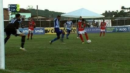 Kaio foi o responsável pela vitória do Dimensão sobre o CSA por 1 a 0, na 1ª rodada do estadual