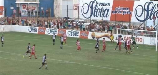 Veja como foi a vitória do Botafogo-PB sobre o Esporte de Patos no Sertão