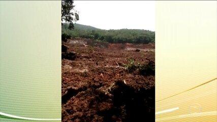 Barragem da Vale se rompe em Brumadinho (BH)