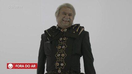 'Fora do Ar': elenco do 'Tá no Ar' cai na gargalhada com os erros de gravação