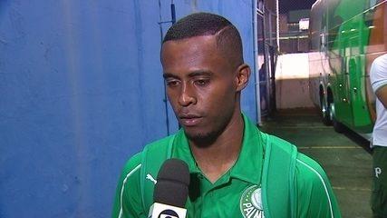 Carlos Eduardo projeta evolução gradual no Palmeiras