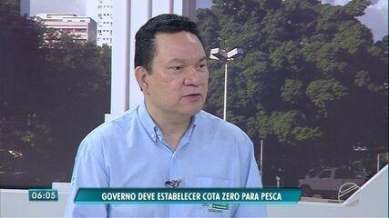 Governo de MS deve estabelecer cota zero para pesca