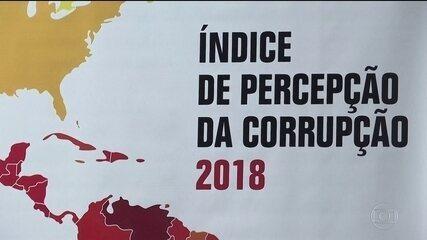 Brasil piora em ranking de corrupção da Transparência Internacional