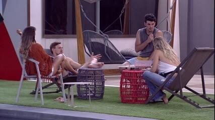 Diego alerta brothers sobre o jogo: 'São sete contra sete'