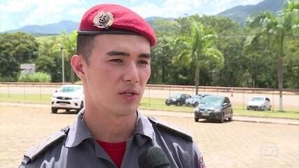 Porta-voz do Corpo de Bombeiros mineiro chama atenção aos 25 anos