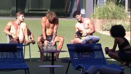 Diego, Alan, Maycon e Gabriela cantam 'Ainda ontem chorei de saudade'