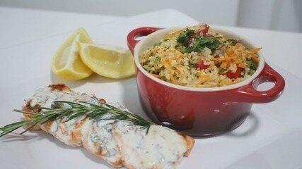 Culinária #013: Aprenda a fazer um cuscuz marroquino de legumes